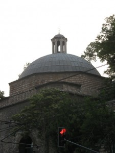 Dome and traffic light